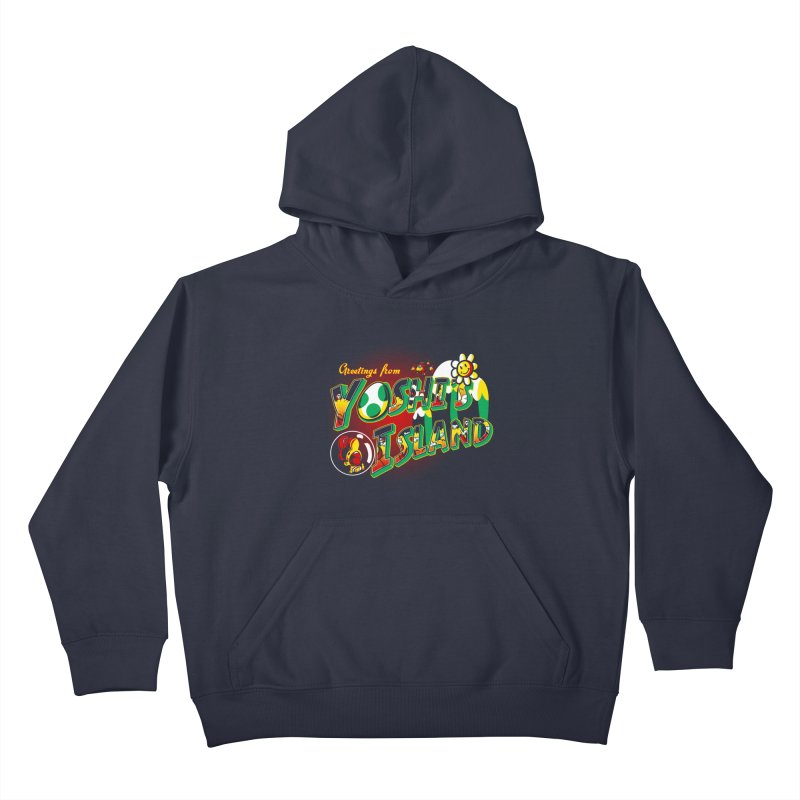 Plumber Paradise Kids Pullover Hoody by Stephen Hartman Illustration Shop