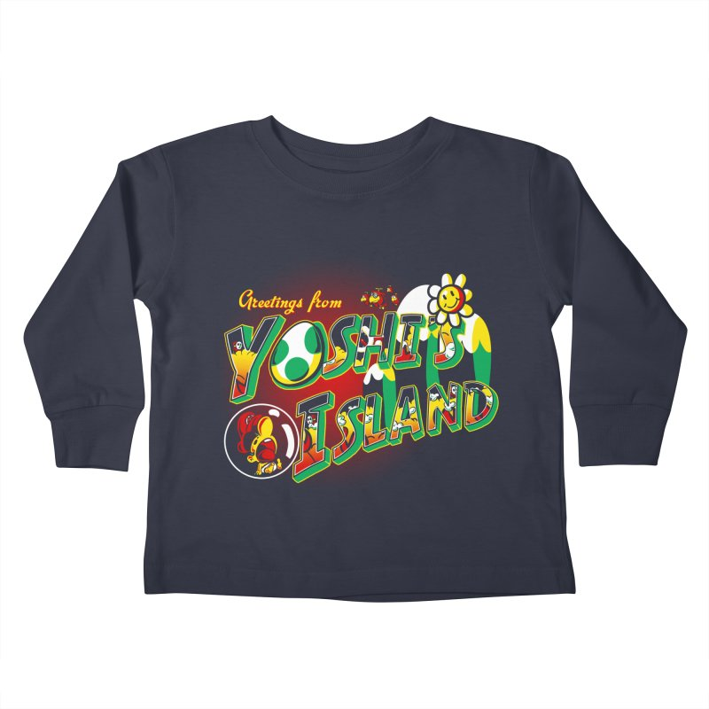 Plumber Paradise Kids Toddler Longsleeve T-Shirt by Stephen Hartman Illustration Shop