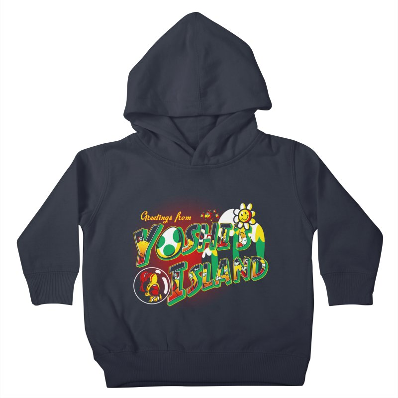Plumber Paradise Kids Toddler Pullover Hoody by Stephen Hartman Illustration Shop