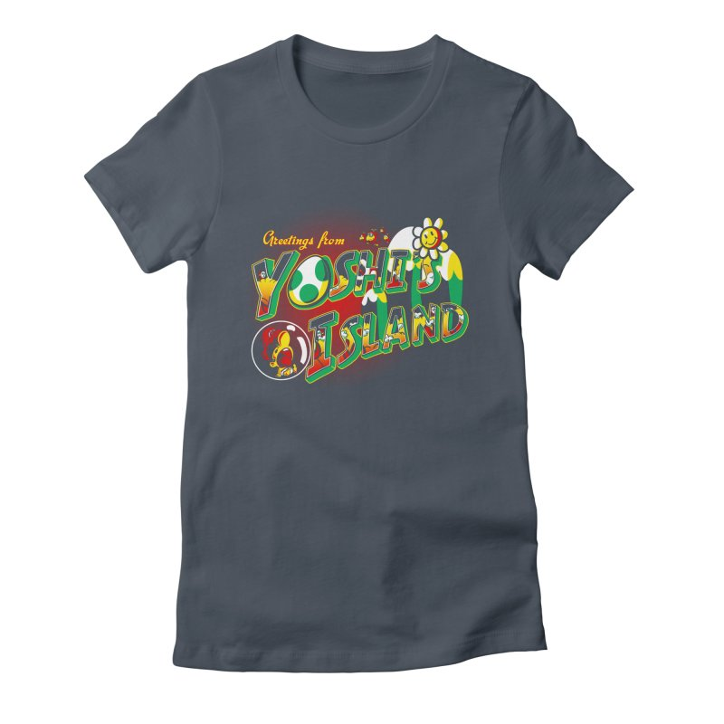 Plumber Paradise Women's Fitted T-Shirt by Stephen Hartman Illustration Shop