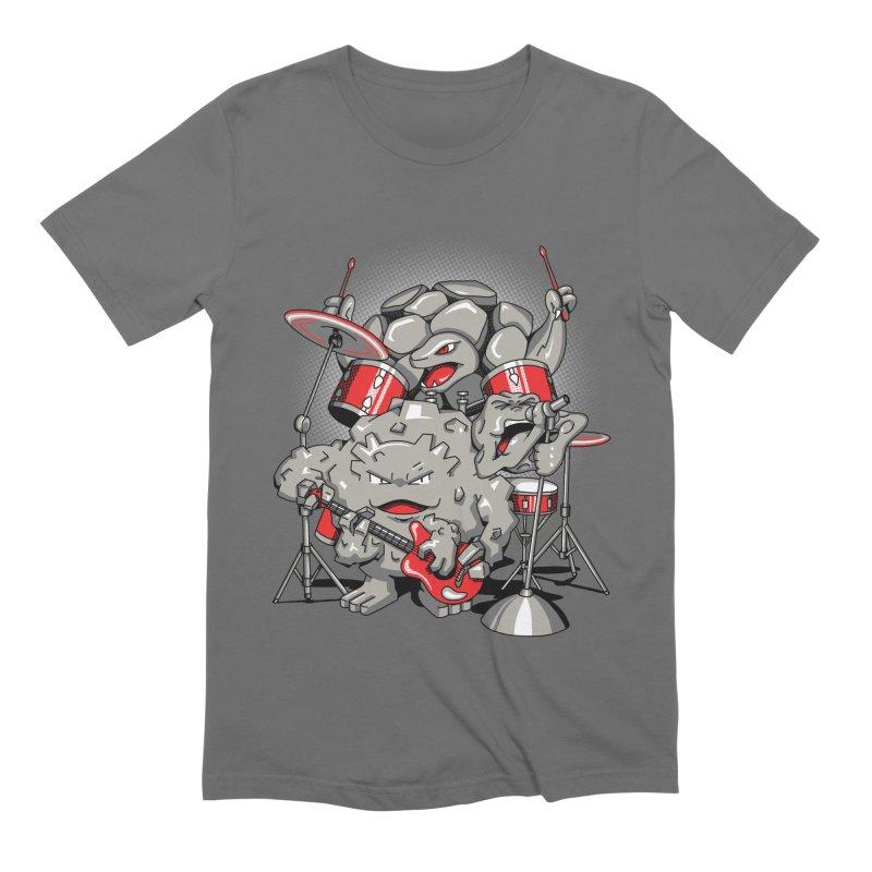 Rock & Roll Men's Extra Soft T-Shirt by Stephen Hartman Illustration Shop
