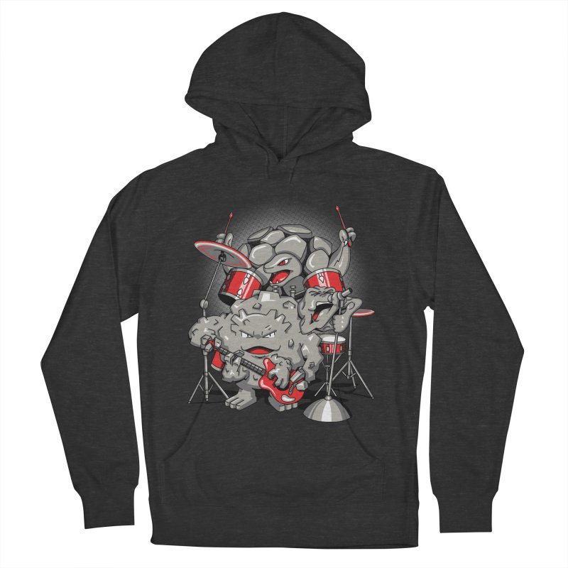 Rock & Roll Men's Pullover Hoody by Stephen Hartman Illustration Shop