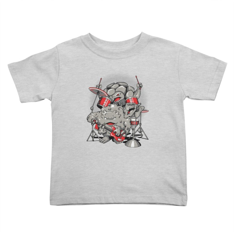 Rock & Roll Kids Toddler T-Shirt by Stephen Hartman Illustration Shop