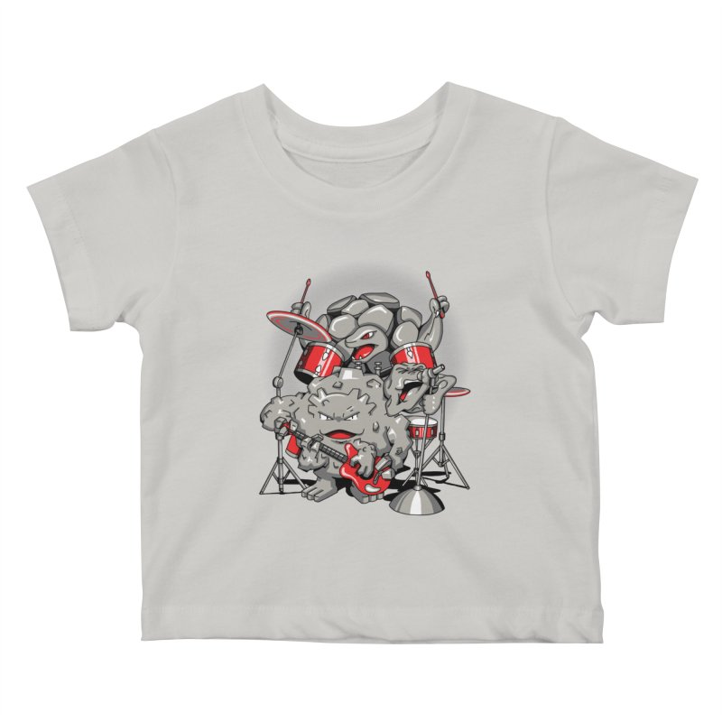 Rock & Roll Kids Baby T-Shirt by Stephen Hartman Illustration Shop