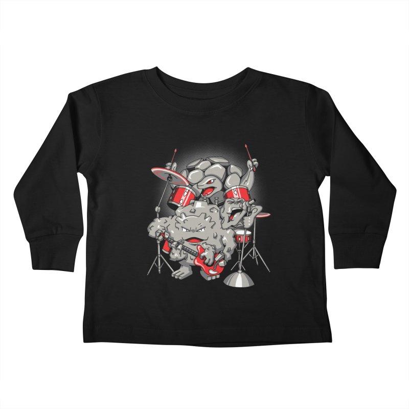 Rock & Roll Kids Toddler Longsleeve T-Shirt by Stephen Hartman Illustration Shop