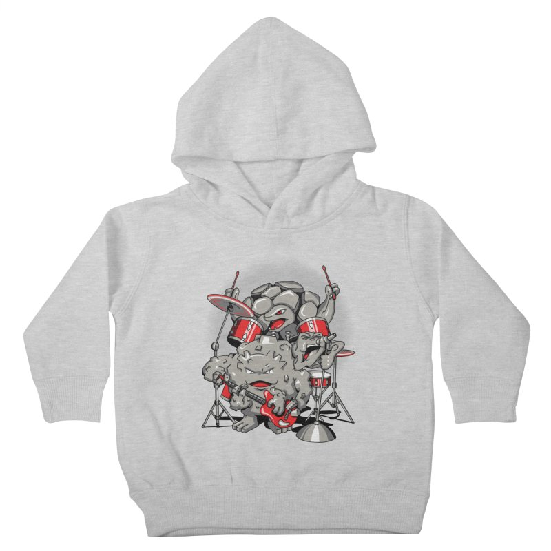 Rock & Roll Kids Toddler Pullover Hoody by Stephen Hartman Illustration Shop