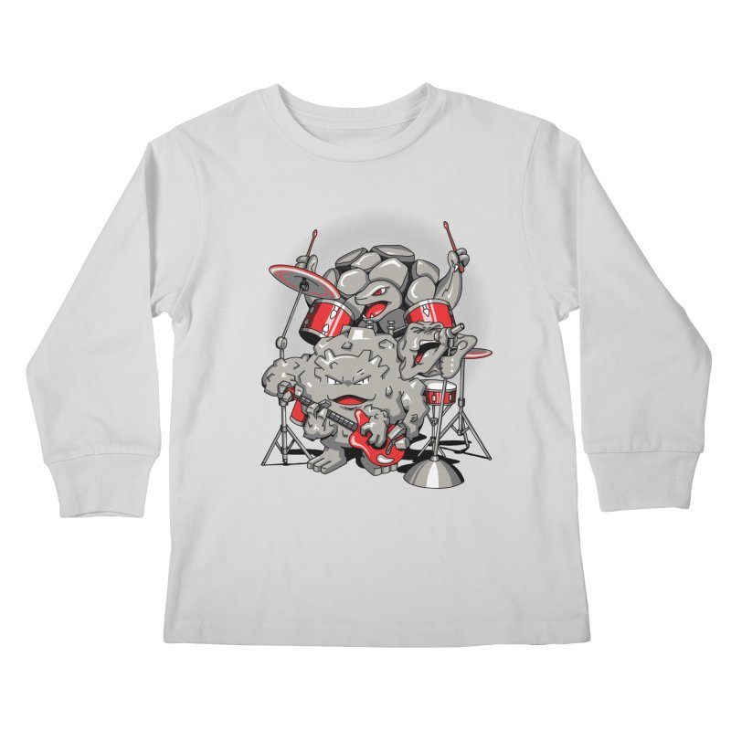 Rock & Roll Kids Longsleeve T-Shirt by Stephen Hartman Illustration Shop