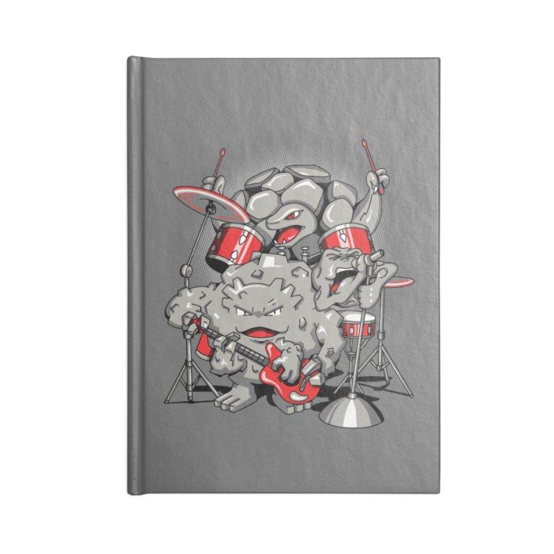 Rock & Roll Accessories Blank Journal Notebook by Stephen Hartman Illustration Shop