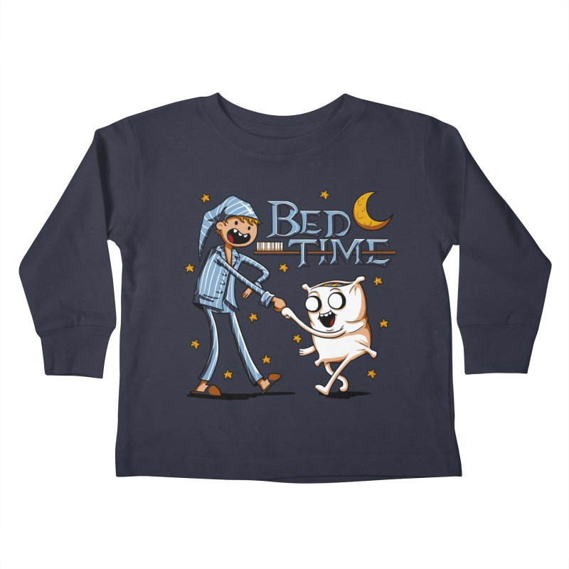 Bed Time Kids Toddler Longsleeve T-Shirt by Stephen Hartman Illustration Shop