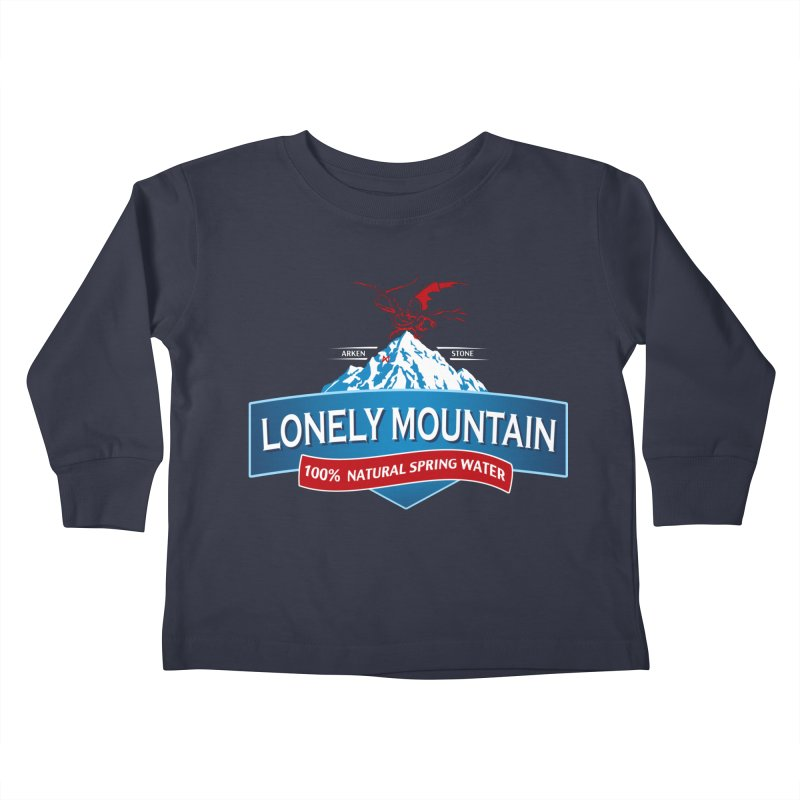 An Unexpected Beverage Kids Toddler Longsleeve T-Shirt by Stephen Hartman Illustration Shop