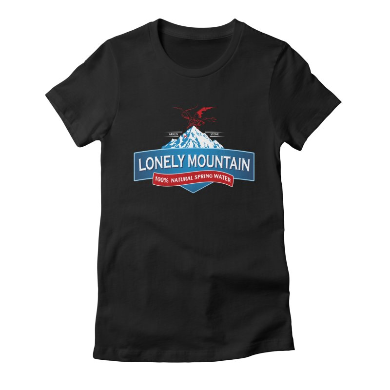 An Unexpected Beverage Women's Fitted T-Shirt by Stephen Hartman Illustration Shop