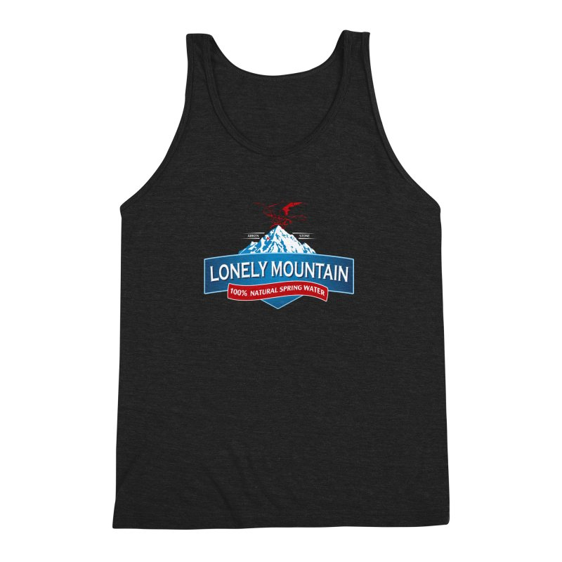 An Unexpected Beverage Men's Triblend Tank by Stephen Hartman Illustration Shop