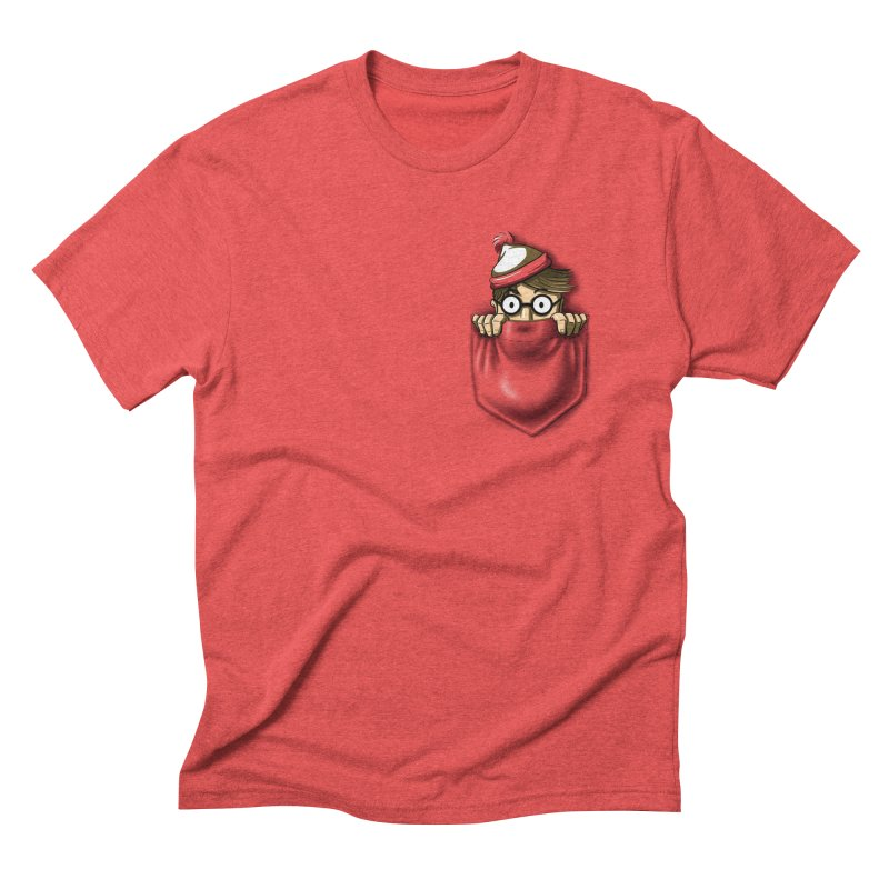 Right Under Your Nose Men's Triblend T-Shirt by Stephen Hartman Illustration Shop