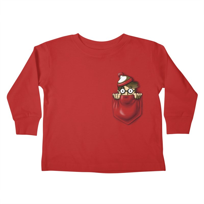 Right Under Your Nose Kids Toddler Longsleeve T-Shirt by Stephen Hartman Illustration Shop