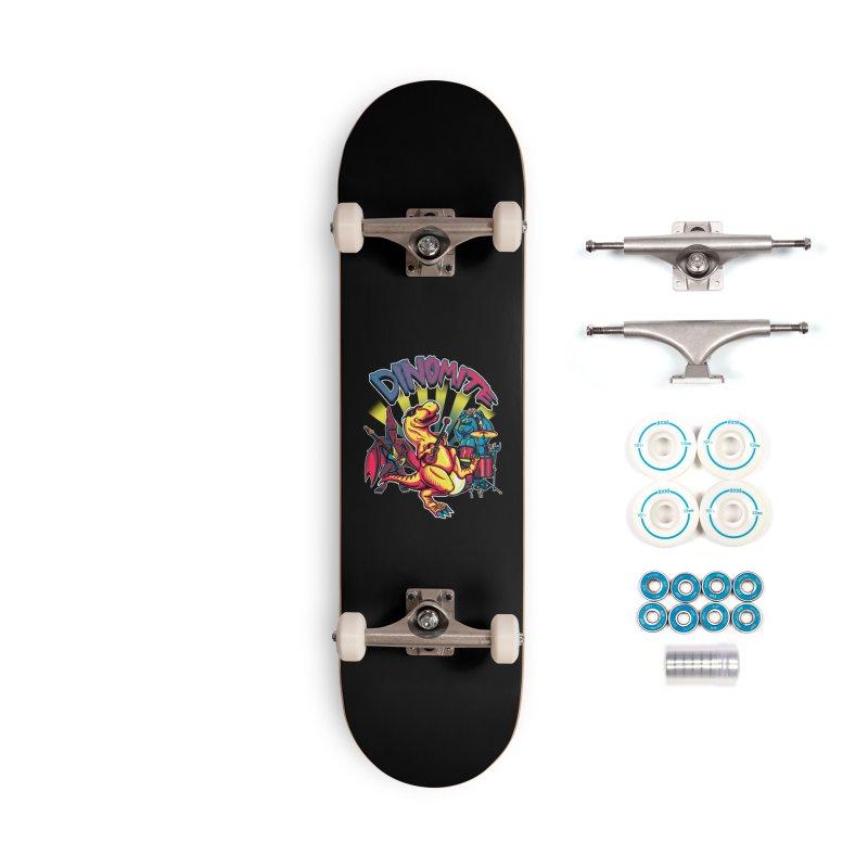 Dinomite Accessories Complete - Basic Skateboard by Stephen Hartman Illustration Shop