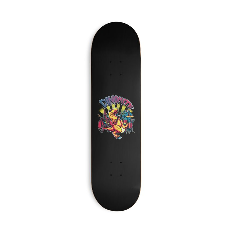 Dinomite Accessories Deck Only Skateboard by Stephen Hartman Illustration Shop