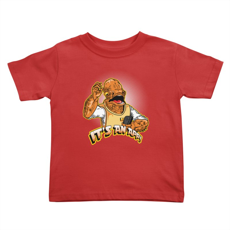 It's an App!! Kids Toddler T-Shirt by Stephen Hartman Illustration Shop