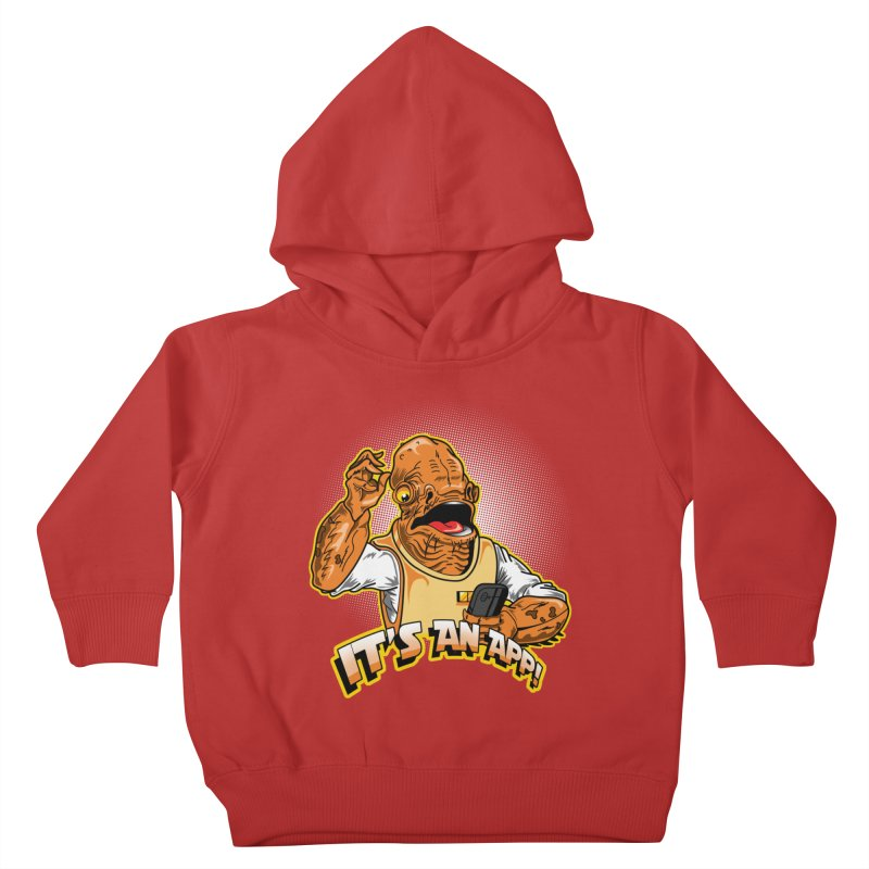 It's an App!! Kids Toddler Pullover Hoody by Stephen Hartman Illustration Shop