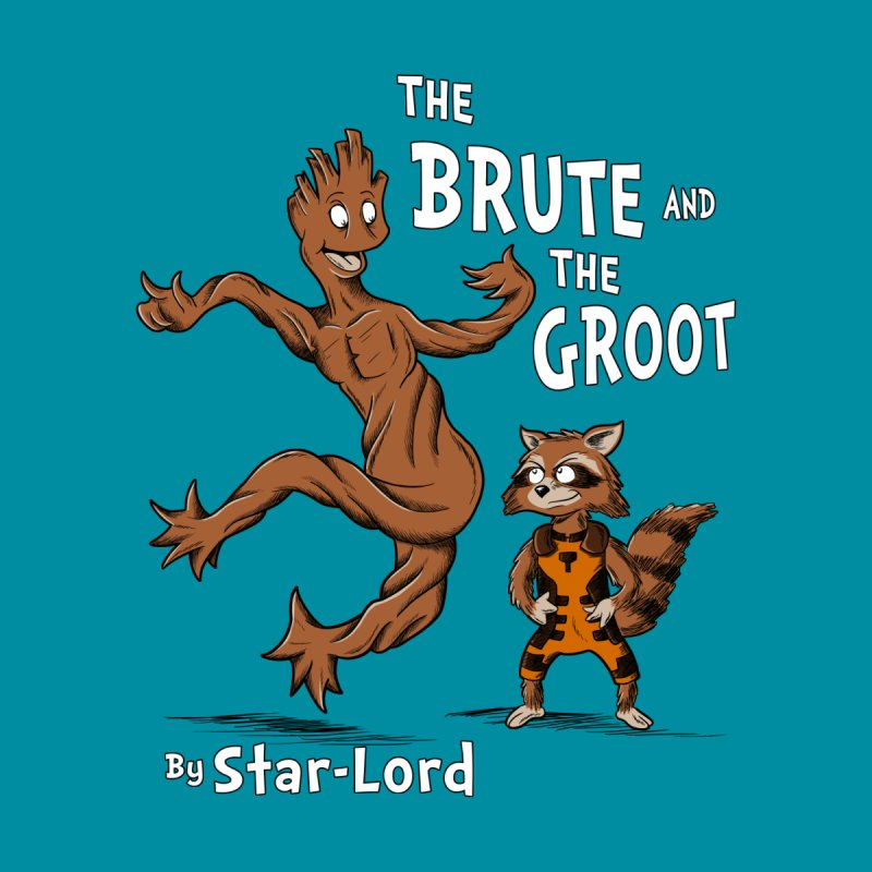 The Brute and The Groot by Stephen Hartman Illustration Shop