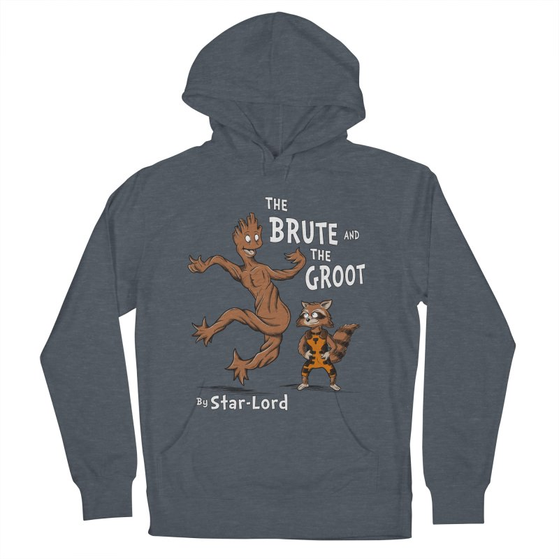 The Brute and The Groot Men's Pullover Hoody by Stephen Hartman Illustration Shop