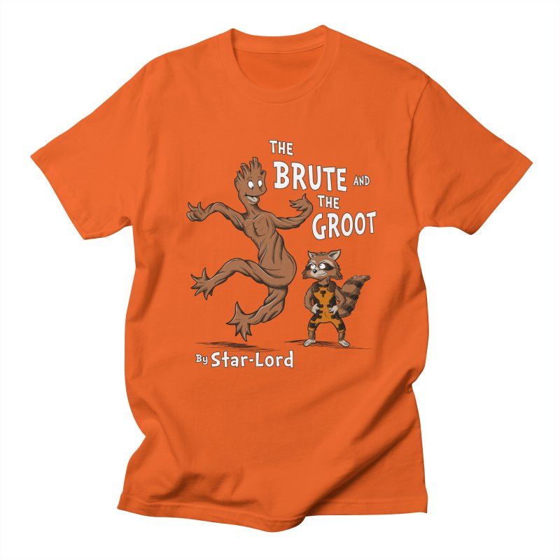 The Brute and The Groot Men's T-Shirt by Stephen Hartman Illustration Shop