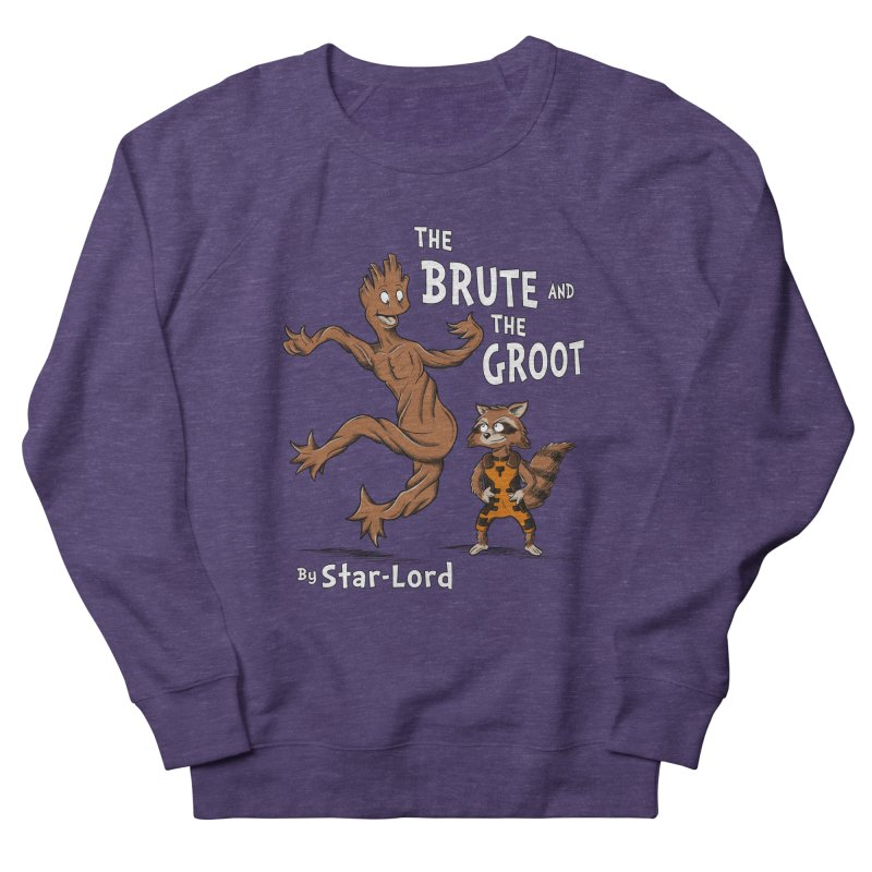 The Brute and The Groot Women's Sweatshirt by Stephen Hartman Illustration Shop