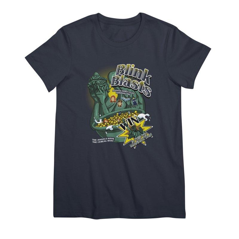 Blink Blasts Women's Premium T-Shirt by Stephen Hartman Illustration Shop