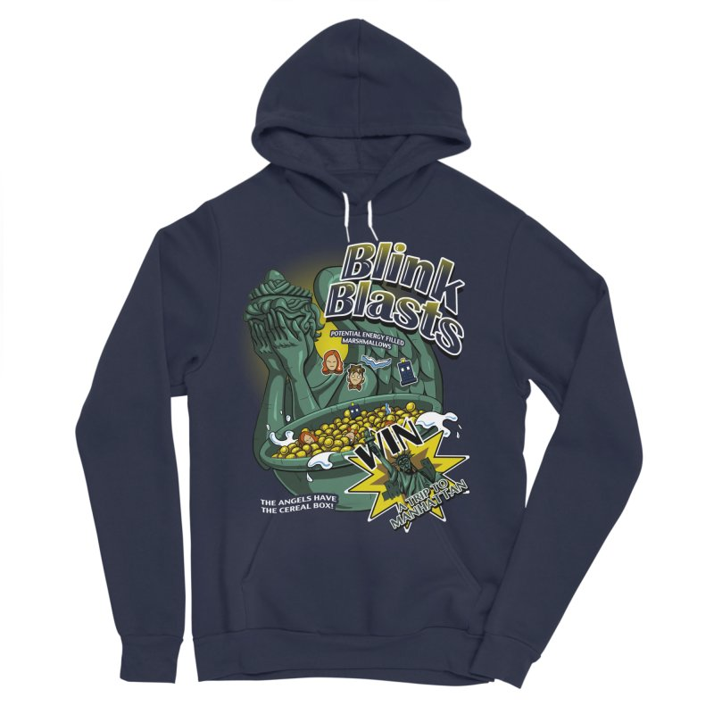 Blink Blasts Men's Sponge Fleece Pullover Hoody by Stephen Hartman Illustration Shop