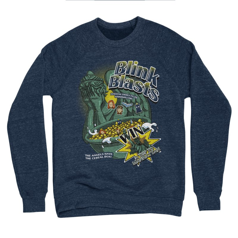 Blink Blasts Men's Sponge Fleece Sweatshirt by Stephen Hartman Illustration Shop