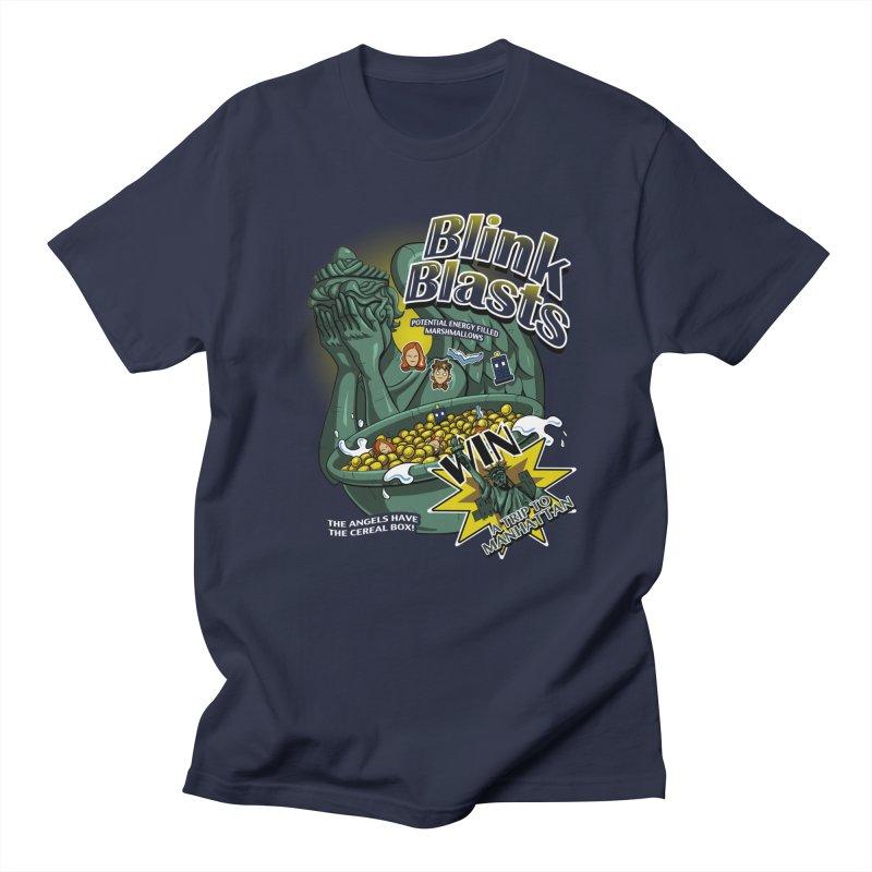 Blink Blasts Men's T-Shirt by Stephen Hartman Illustration Shop