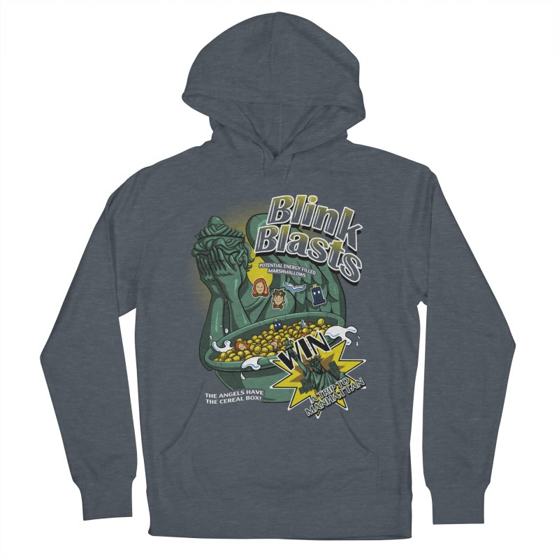 Blink Blasts Men's Pullover Hoody by Stephen Hartman Illustration Shop