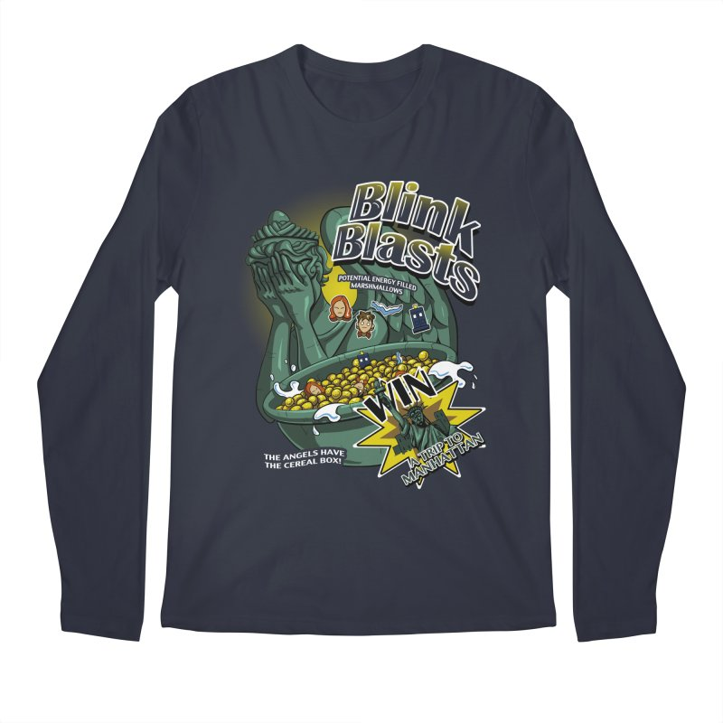 Blink Blasts Men's Regular Longsleeve T-Shirt by Stephen Hartman Illustration Shop
