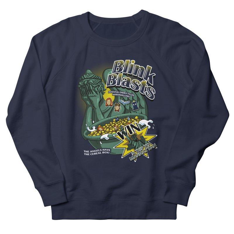 Blink Blasts Women's French Terry Sweatshirt by Stephen Hartman Illustration Shop