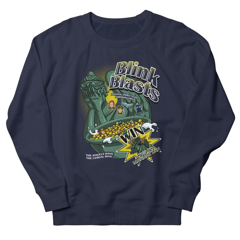 Blink Blasts Men's French Terry Sweatshirt by Stephen Hartman Illustration Shop