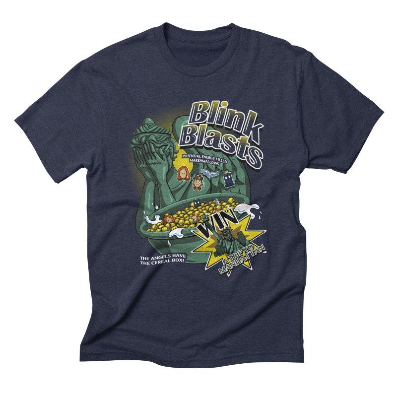 Blink Blasts Men's Triblend T-Shirt by Stephen Hartman Illustration Shop