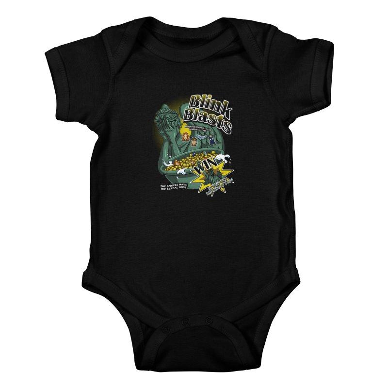 Blink Blasts Kids Baby Bodysuit by Stephen Hartman Illustration Shop