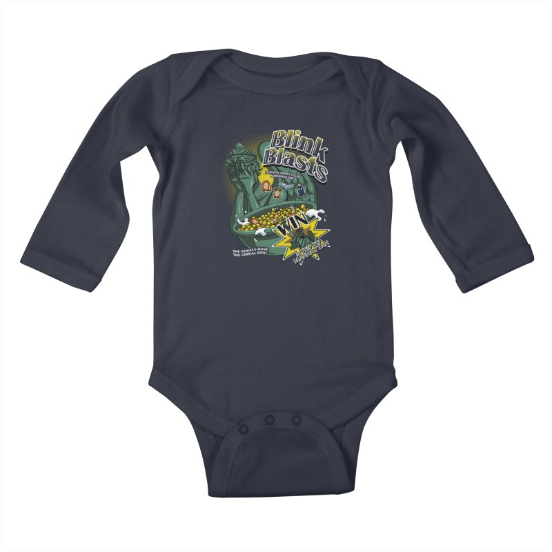 Blink Blasts Kids Baby Longsleeve Bodysuit by Stephen Hartman Illustration Shop