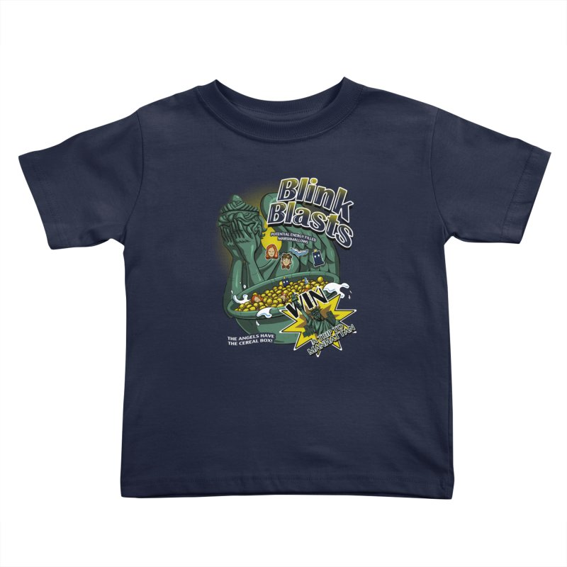 Blink Blasts Kids Toddler T-Shirt by Stephen Hartman Illustration Shop