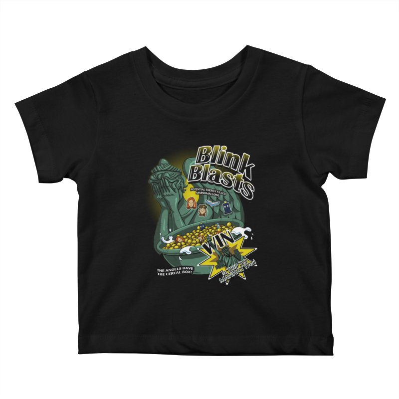 Blink Blasts Kids Baby T-Shirt by Stephen Hartman Illustration Shop