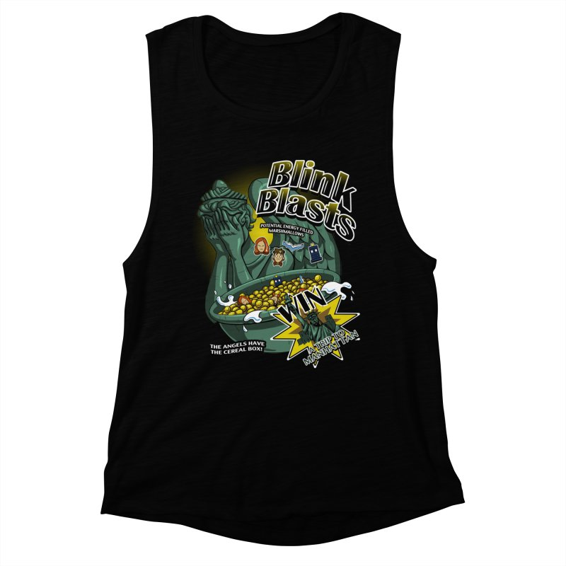 Blink Blasts Women's Muscle Tank by Stephen Hartman Illustration Shop