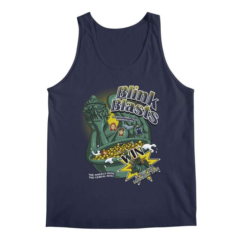 Blink Blasts Men's Regular Tank by Stephen Hartman Illustration Shop