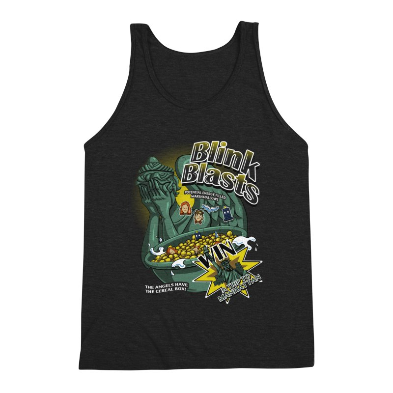Blink Blasts Men's Triblend Tank by Stephen Hartman Illustration Shop