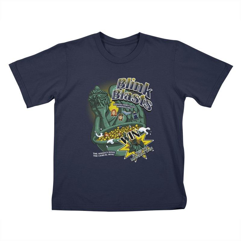 Blink Blasts Kids T-Shirt by Stephen Hartman Illustration Shop