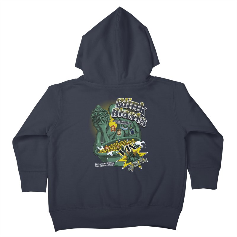 Blink Blasts Kids Toddler Zip-Up Hoody by Stephen Hartman Illustration Shop