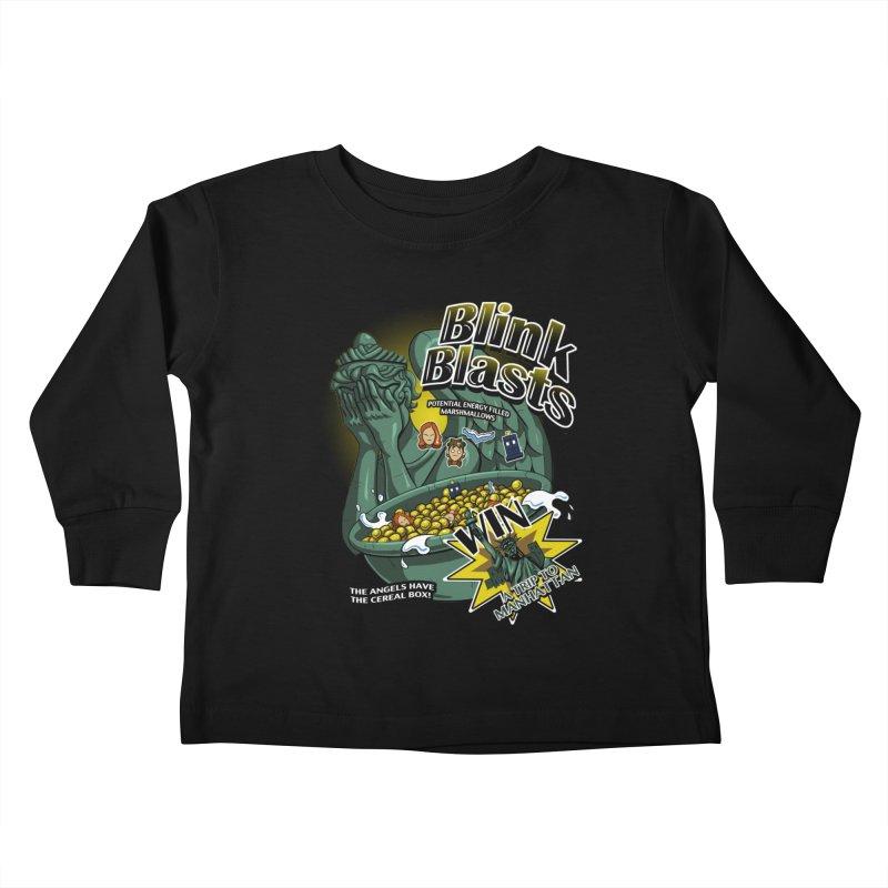 Blink Blasts Kids Toddler Longsleeve T-Shirt by Stephen Hartman Illustration Shop