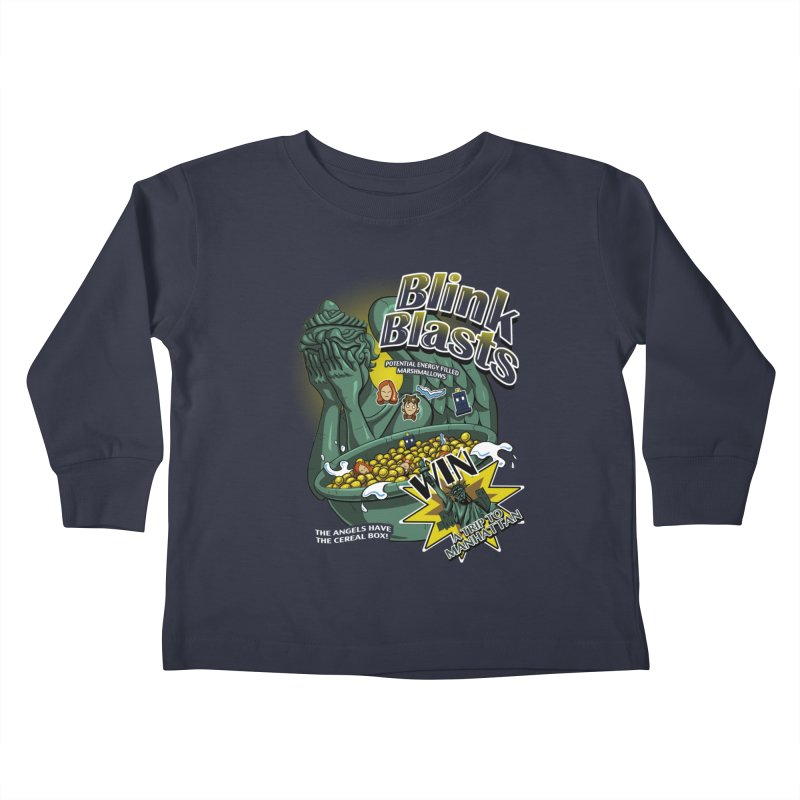 Blink Blasts Kids Toddler Longsleeve T-Shirt by Stephen Hartman Illustration Shop