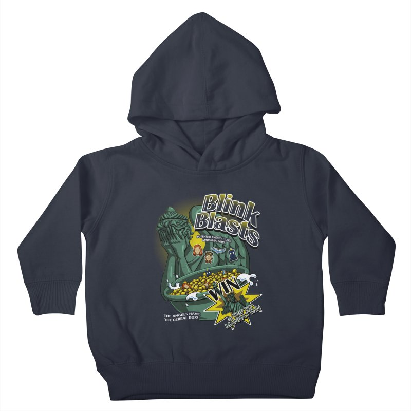 Blink Blasts Kids Toddler Pullover Hoody by Stephen Hartman Illustration Shop
