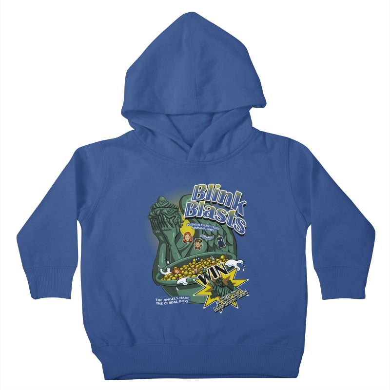 Blink Blasts Kids Toddler Pullover Hoody by Stephen Hartman Illustration Shop