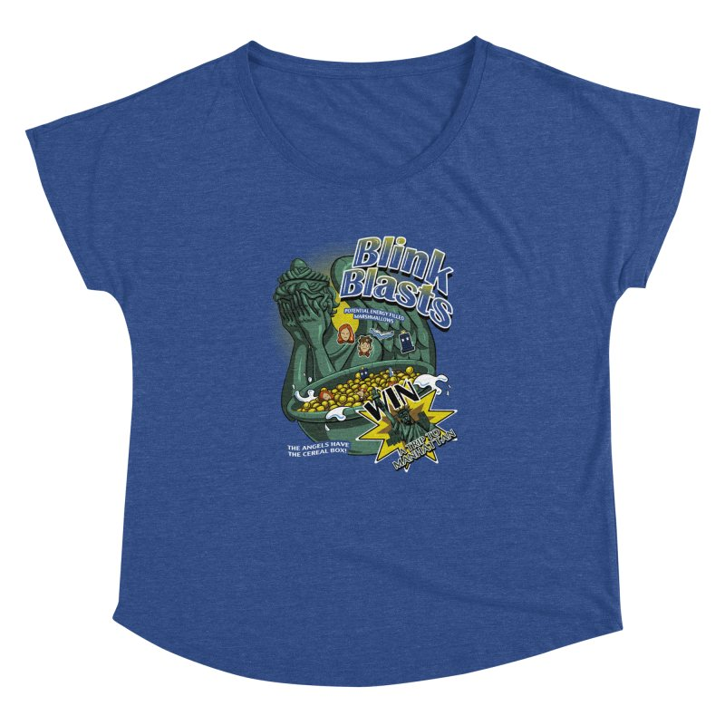 Blink Blasts Women's Dolman by Stephen Hartman Illustration Shop