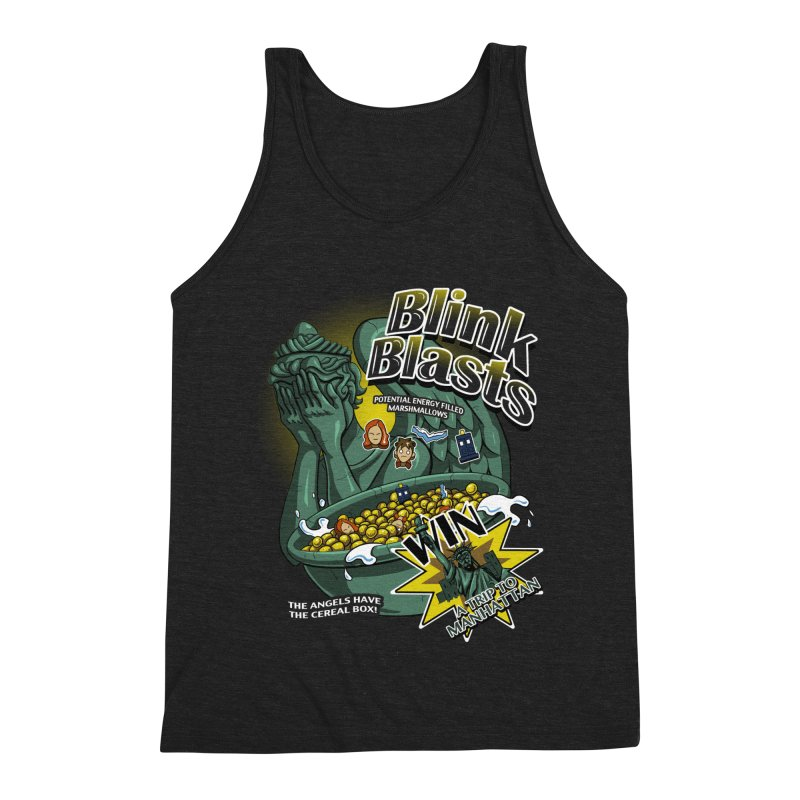 Blink Blasts Men's Triblend Tank by Stephen Hartman Illustration Shop